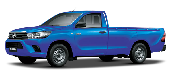 Toyota Hilux Low Bed 2020 NEBULA BLUE MICA