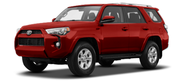 Toyota 4Runner Red Mica Metallic 2020