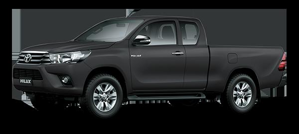 Toyota Hilux Extra Cabina GRAY METALLIC/GRAPHITE 2018