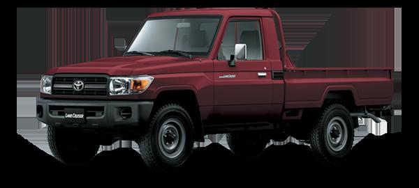 Toyota Land Cruiser hard Top DARK RED METALLIC 2018