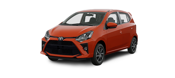 Toyota Agya 2020 Naranja