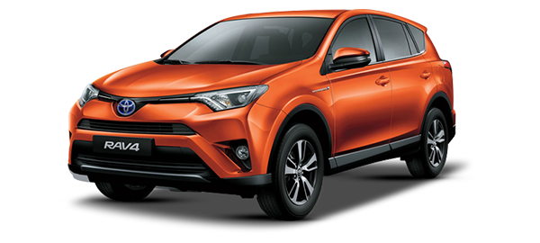 Toyota RAV4 Híbrido Eléctrico ORANGE METALLIC 2018