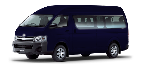 Toyota Hiace Techo Alto Dark blue mica metallic 2019