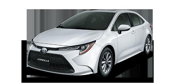 Toyota Corolla Super White II 2020