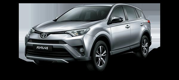 Toyota Rav4 Silver Metallic 2018