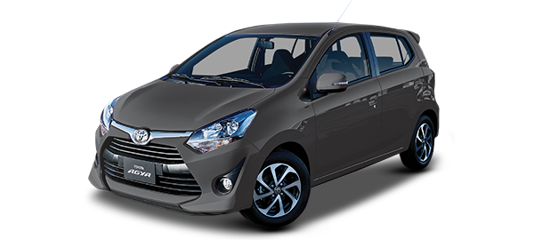 Toyota Agya GRAY METALLIC/GRAPHITE 2019