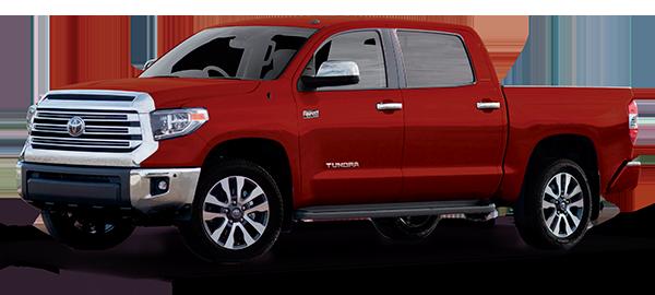 Toyota Tundra Red Mica Metallic 2020