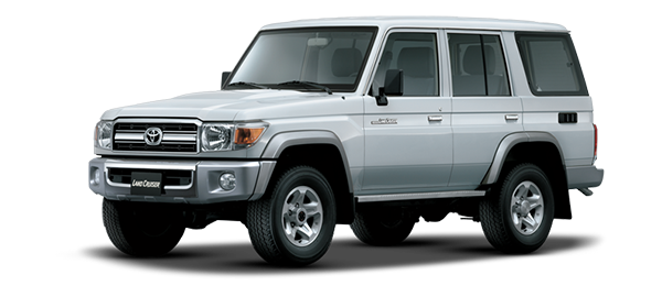 Toyota Land Cruiser Hard Top 4 Puertas Silver Metallic 2019