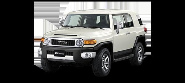 Toyota FJ Cruiser WHITE 2018
