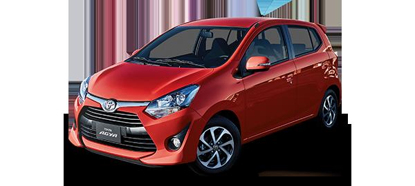 Toyota Agya Rojo 2019