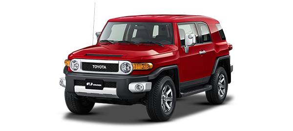 Toyota FJ Cruiser RED 2019