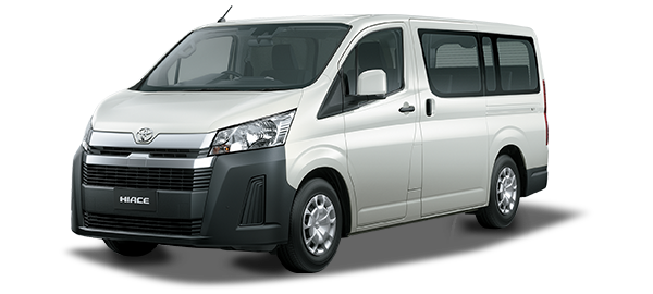 Toyota Hiace techo bajo WHITE 2020