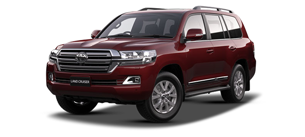 Toyota Land Cruiser Station Wagon DARK RED METALLIC 2019