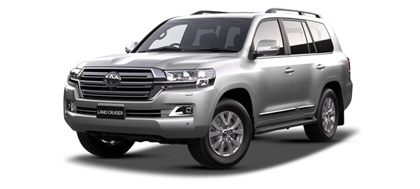 Toyota Land Cruiser Station Wagon Silver Metallic 2019