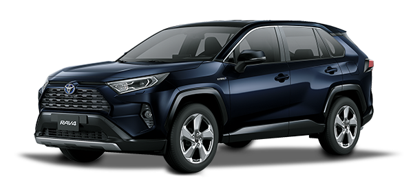 Toyota Rav4 Híbrido Auto Recargable Dark Blue mc 2019