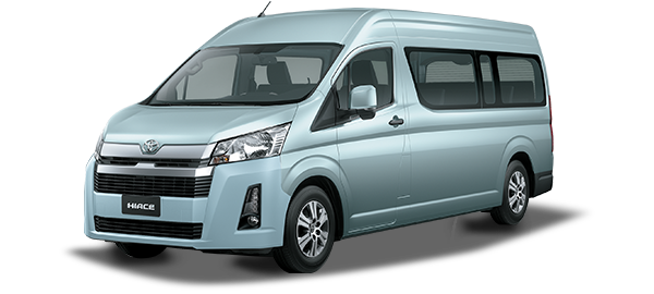 Toyota Hiace techo alto LT BLUE ME 2019