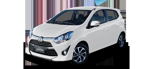 Toyota Agya Blanco 2019