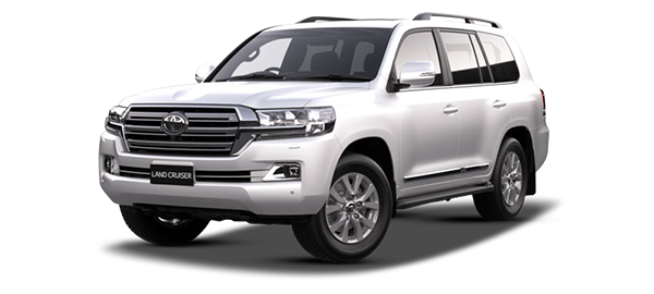 Toyota Land Cruiser Station Wagon Super White II 2019