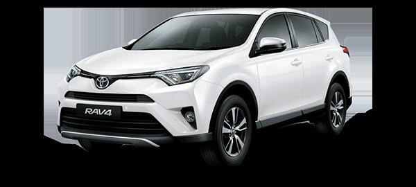 Toyota Rav4 Super White II 2018