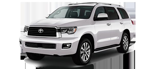 Toyota Sequoia WHITE PEARL CS 2019