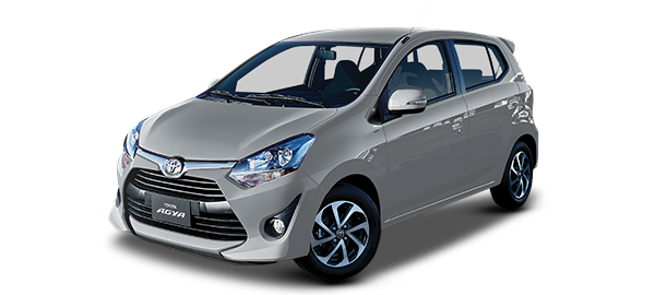 Toyota Agya SILVER METÁLICO 2019