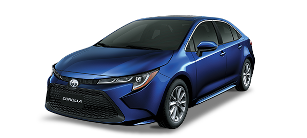 Toyota Corolla Dark Blue Mica Metallic 2019