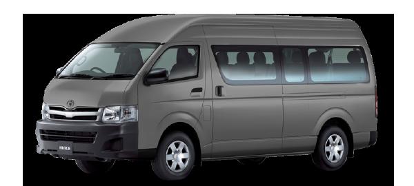Toyota Hiace Techo Alto SILVER METALLIC 2019