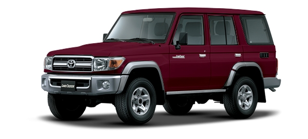 Toyota Land Cruiser Hard Top 4 Puertas DARK RED METALLIC 2019