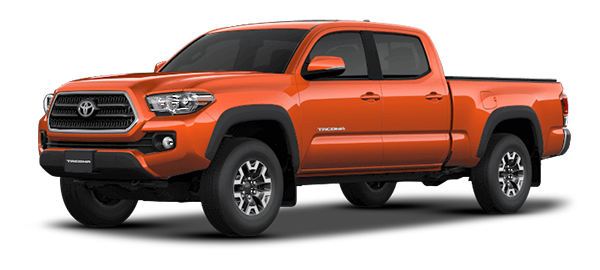 Toyota Tacoma ORANGE MICA METALLIC 2018