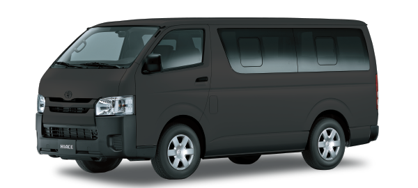 Toyota Hiace Techo Bajo SILVER METALLIC 2019