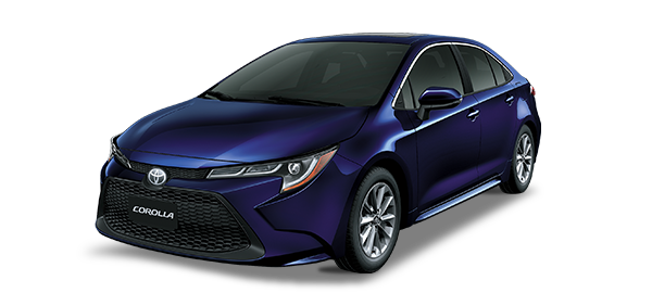 Toyota Corolla Dark Blue mc 2019