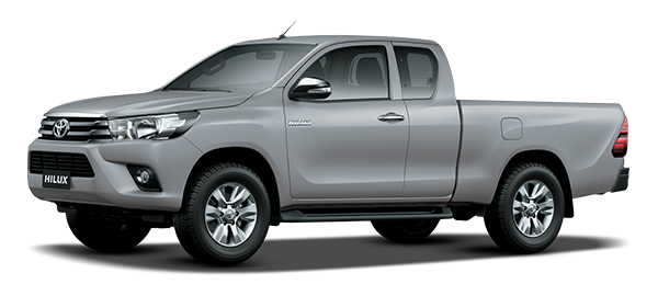 Toyota Hilux Extra Cabina SILVER METALLIC 2018