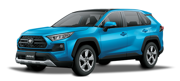Toyota Rav4 adventure CYAN METALLIC 2019