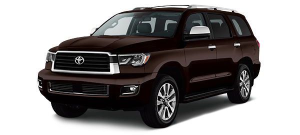 Toyota Sequoia BLACKISH RED MICA 2018