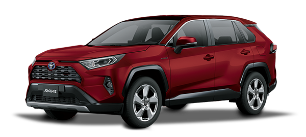 Toyota Rav4 Híbrido Auto Recargable RED MC 2019