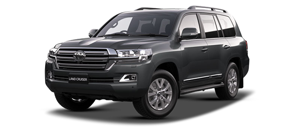 Toyota Land Cruiser Station Wagon GRAY METALLIC/GRAPHITE 2019