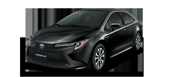 Toyota Corolla híbrido auto recargable BLACK MICA INK 2019