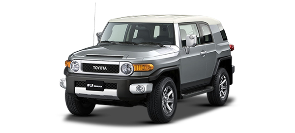 Toyota FJ Cruiser CEMENT GRAY METALLIC 2KY 2018