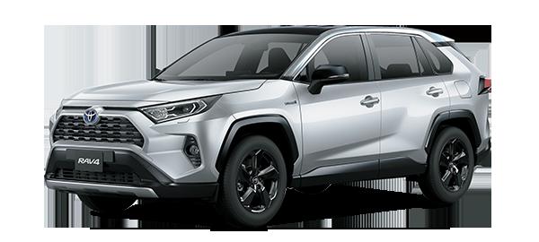 Toyota Rav4 Híbrido Auto Recargable SILVER METALLIC 2019