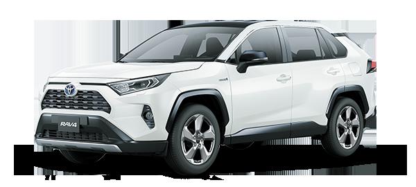Toyota Rav4 Híbrido Auto Recargable WHITE PEARL CS 2019