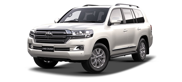 Toyota Land Cruiser Station Wagon WHITE PEARL CS 2019