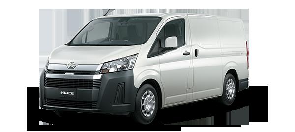 Toyota Hiace Panel WHITE 2019