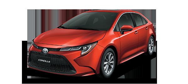 Toyota Corolla SCARLET METALLIC 2020