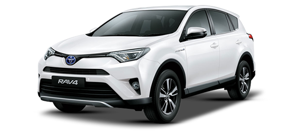 Toyota RAV4 Híbrido Eléctrico Super White II 2019