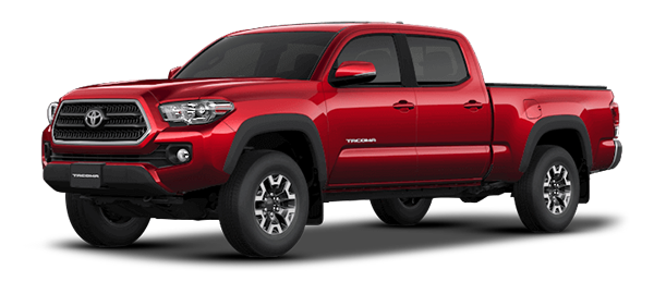 Toyota Tacoma Red Mica Metallic 2019