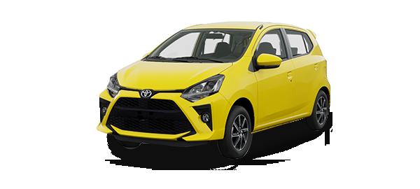Toyota Agya 2020 Amarillo