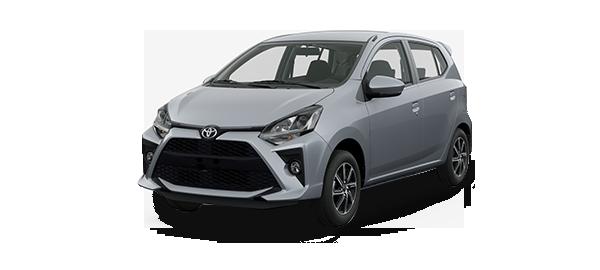 Toyota Agya 2020 SILVER METALLIC