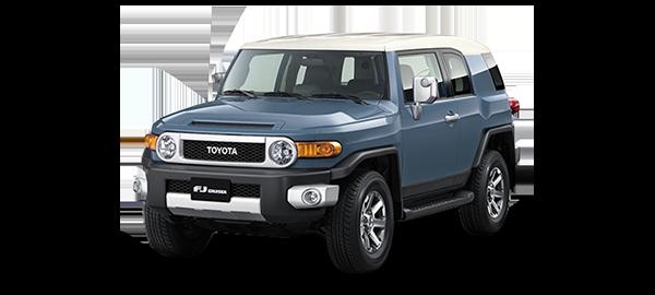 Toyota FJ Cruiser SMOKEY BLUE 2LS 2018