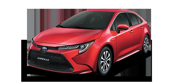 Toyota Corolla híbrido auto recargable 2020 Red Mica Metallic