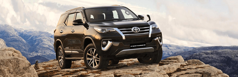 Banner Toyota Fortuner 2020
